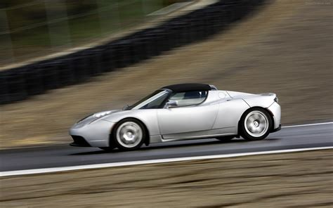 Tesla Roadster Sport Tesla Roadster Sport Widescreen Car Image 28 Of 72