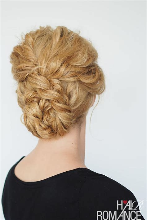 romantic curly cascading hairstyles updos for medium great updos for medium length hair southern living