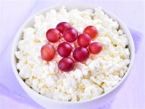 cottage cheese and cottage cheese grapes recipe and nutrition eat this much