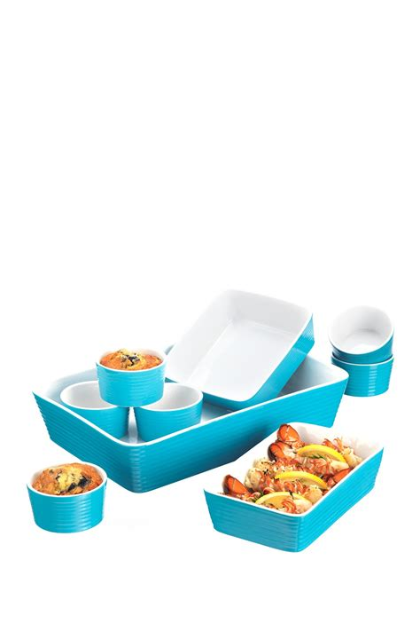 home essentials and beyond turquoise 9 bakeware
