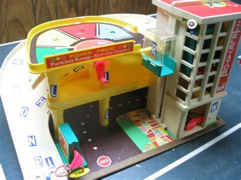 fisher price garage cars i used to this fisher price gas station and