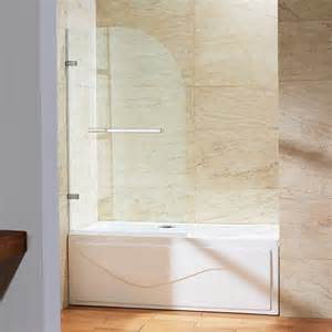 curved shower door home depot vigo 34 in x 58 in frameless curved pivot tub