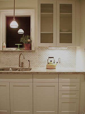 mini subway tile kitchen backsplash 17 best images about kitchen on black granite