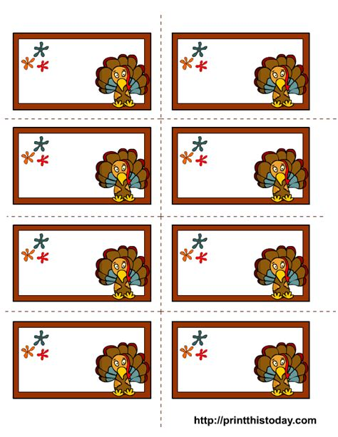 thanksgiving gift cards template free printable thanksgiving labels