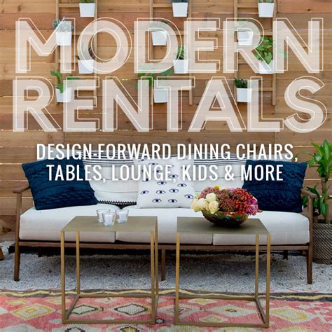 modern furniture rental modern furniture rental party