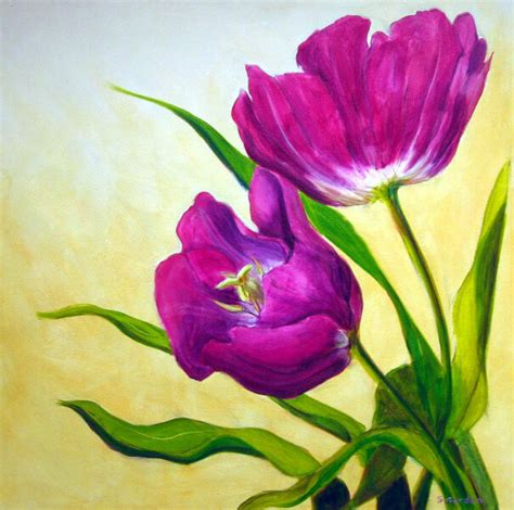 inilah makna  lukisan bunga  jarang diketahui