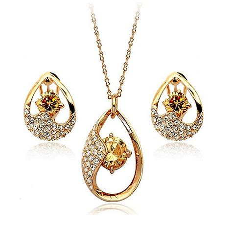 Home Decor Stores In Nj 18k Gold Plated Jewelry Set Online Shopping Website In