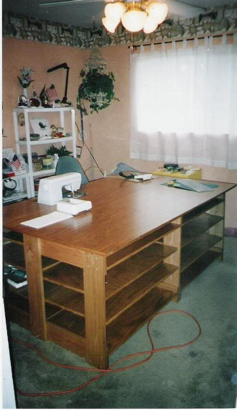 sewing table idea craft sewing room ideas