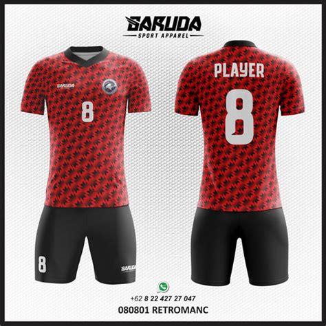desain kaos hitam keren desain kaos futsal hitam merah yang keren garuda print