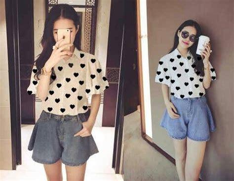 Atasan Wanita Katun Terbaru Blouse Wanita Harga Murah Pakaian Wanita baju atasan wanita cantik model terbaru murah