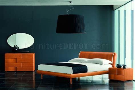 Trendy Bedroom Furniture Modern Bedroom Set Trendy Cherry Finish