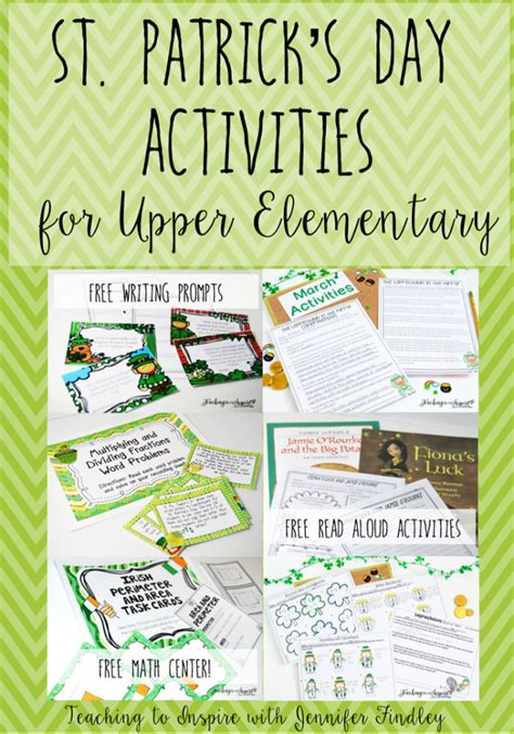 st s day printable and activities for st s day activities for elementary teaching to inspire with findley