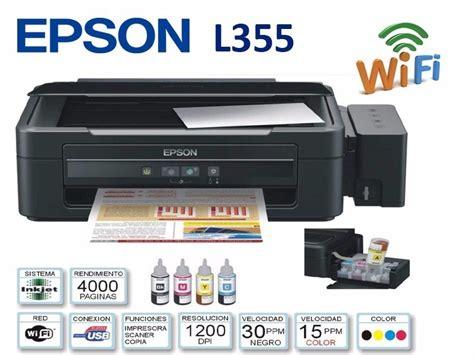 How To Reset Wifi For Epson L355 | impresora multifuncion epson l355 wifi con sistema