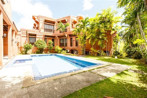 six bedroom house for rent house with swimming pool for rent in north town cebu