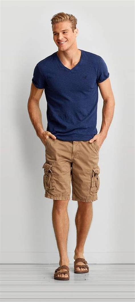 mens summer casual short outfits worth  copy  fashion