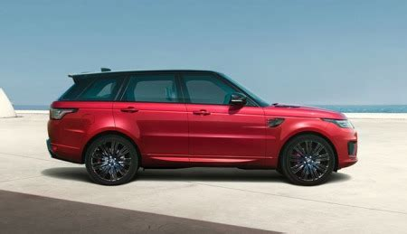 build your own range rover sport build your suv vehicle configurator land rover usa