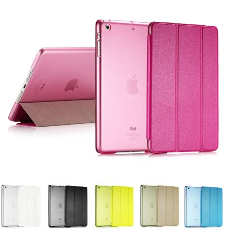 Smart Tablet Flip Leather Magnetic Ultra Slim Thin Mini 2 3 ultra slim smart flip stand pu leather cover for apple mini 1 2 retina display up