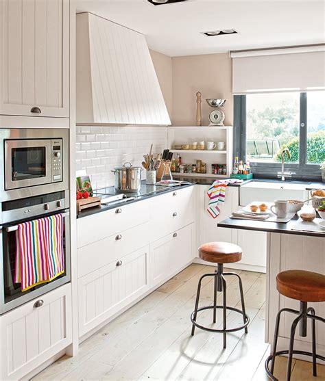 como aprovechar el espacio en cocinas pequenas