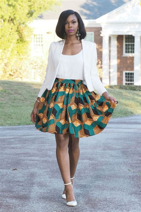 african attire skirt imani knee length skirt in ankara print yes it has