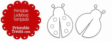 ladybug card template ladybug printable treats