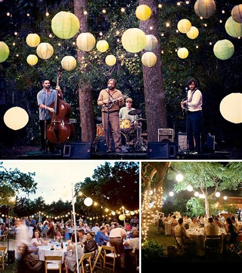 Backyard Reception Ideas Wedding Preparation Backyard Wedding Ideas