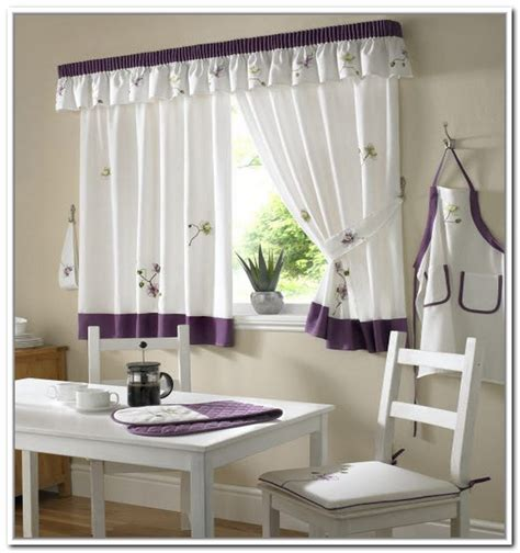 Curtain For Kitchen Designs Curtain Ideas Kitchen Kitchen And Decor