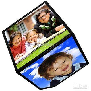 3d Cube Photo Frame by Buy Rotating Battery Operated Magic Cube Revolving 3d Cube