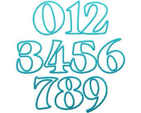 graffiti numbers   clipartsco