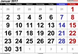 Kalender 2018 Pdf Januar Kalender Januar 2017 Als Pdf Vorlagen