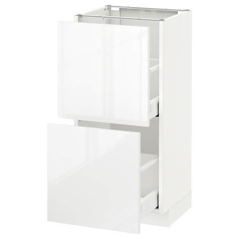 Metod Maximera Base Cabinet With 2 Drawers White Grevsta | metod maximera base cabinet with 2 drawers white ringhult