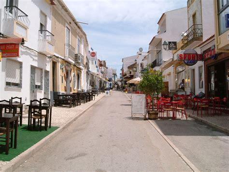 Colorful Beach Houses by Alvor Algarve Portugal Algarve Housing Villas For