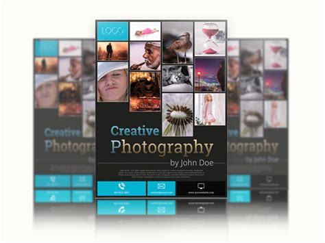 photography flyer template flyer templates on creative