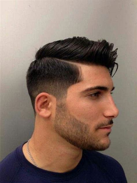 side part undercut hairstyle mens side part haircut