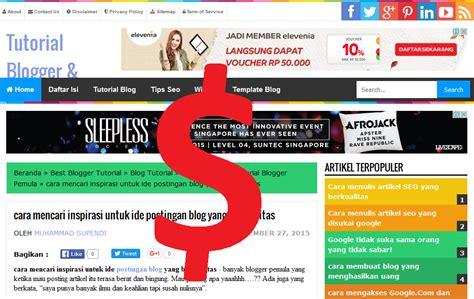 google adsense blogger tutorial cara agar diterima google adsense tutorial blogger