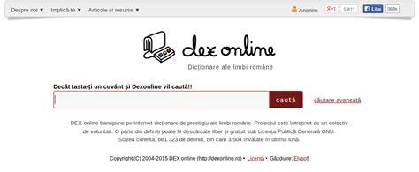 Dexonline Search Aprilie 2015 Dexonline