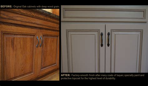 glazing kitchen cabinets before and after ccff quot before and afters quot traditional atlanta by