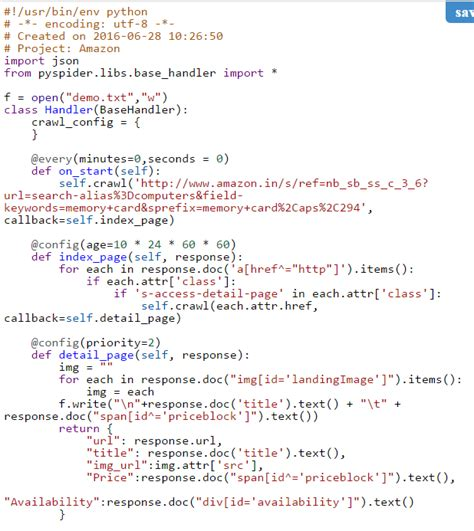 format email python i want store output of python pyspider script to csv or