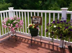 decorating decks country cottage deck decor home update ideas outside