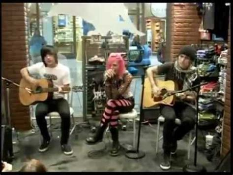 hire seting video icon for hire acoustic set at hot topic 2009 youtube