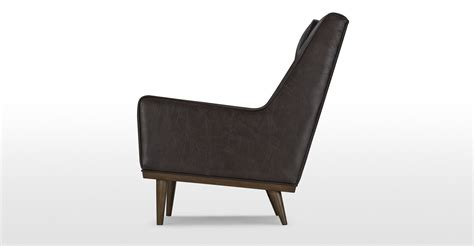 retro armchair scott retro armchair in vintage brown premium leather