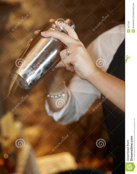 martini shaker shaking martini shaker stock photography image 7977152