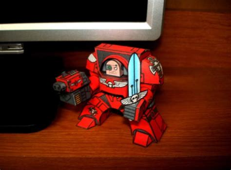 Warhammer Papercraft - warhammer 40k themed paper crafts gadgetsin