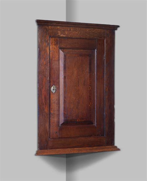 oak corner cupboard georgian corner cabinet antique