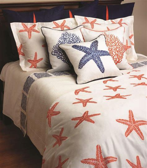 starfish bedding starfish embroidered bedding by anali gracious style