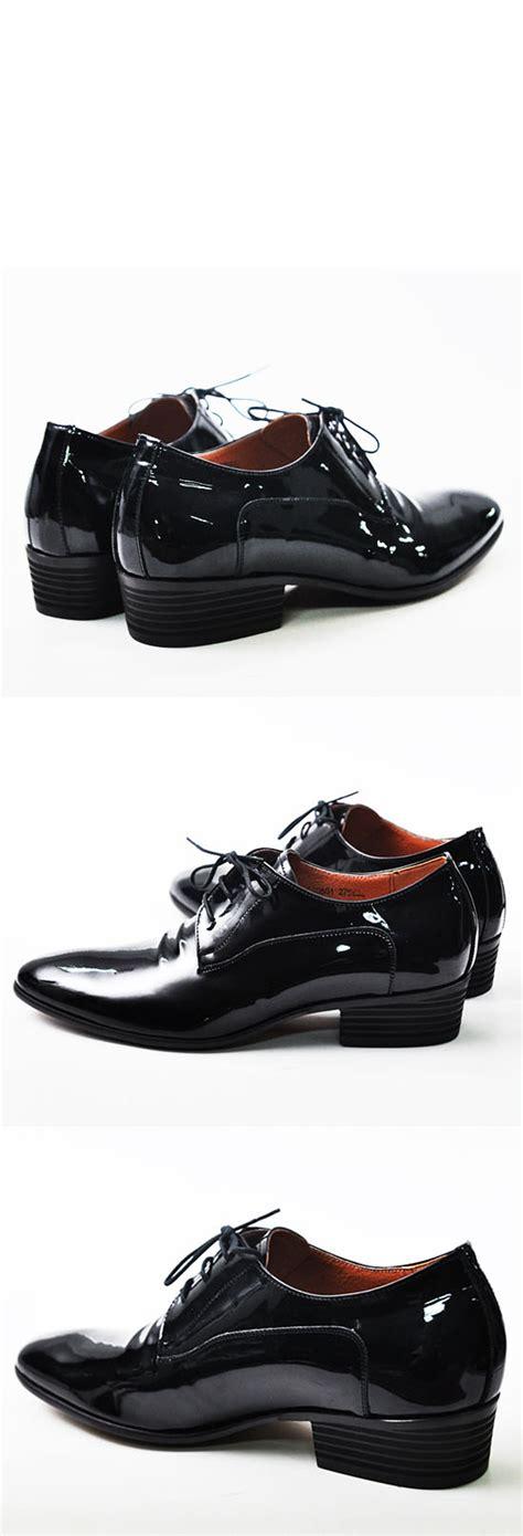 height increasing 5cm heel mens black oxford