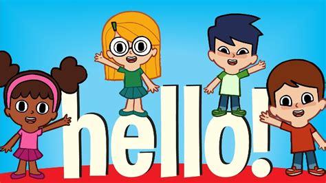 greeting song hello hello song