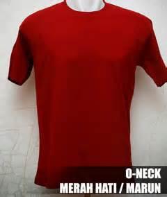 S Tshirt Kaos Polos Model O Neck Unisex Lengan Pendek Hijau Tua Murah kaos polos o neck pendek 171 kaos polos kece murah