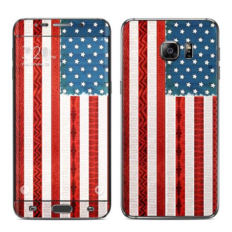Garskin Samsung Galaxy S6 Edge Plus Sticker Stiker Glitter Skin S6 samsung galaxy s6 edge plus skin american tribe by boothe decalgirl