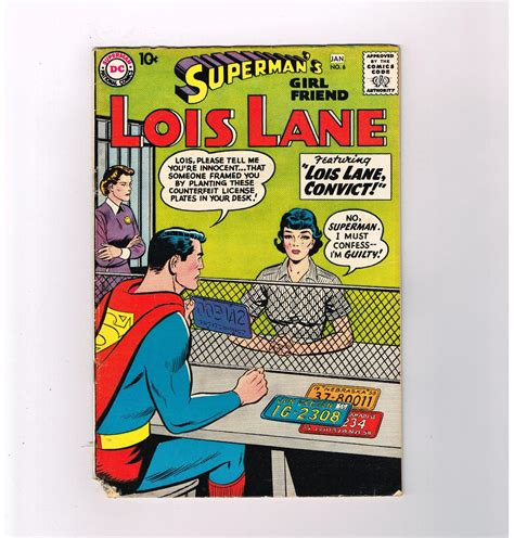 Age Finder Supermans Lois 6 Affordable Silver Age Find From Dc Comics