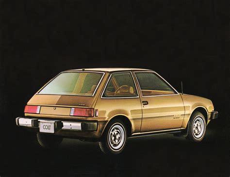 hatchback cars 1980s hatch heaven 187 1980 dodge colt custom